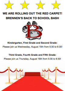 2018 Back to School Bash